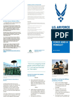 air force female brochure