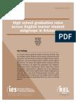 HS Graduation Rates Across English-Learner Subgroups in Arizona