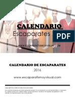 Wd Calendar 2016