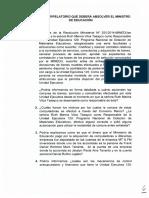 Pliego interpelatorio contra ministro de Educación Jaime Saavedra