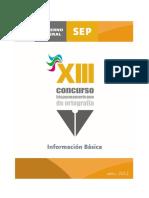Reglas-Operacion Concurso Hispanoamericano de OrtografÃ-A
