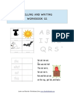 FKB Spelling and Writing Workbook G1