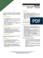 Epotex MV Adherente Entre Concreto Viejo y Endurecido