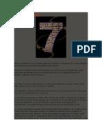 EL NUMERO 7