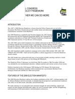 Policy Frameworkz