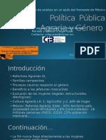 Política Pública Agraria y Género.pptx