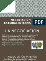 NEGOCIACIÓN EXTERNA-INTERNA