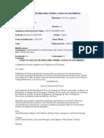 Codigo de Derecho Internacional Privado (Código Bustamente)