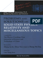 Lim. Yung-Kuo. Problems and Solutions on Solid State Physics, Relativity (1)