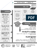 resume - a riley 2017 graphic