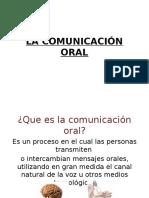 La Comunicación Oral