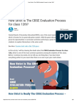 How Strict is the CBSE Evaluation Process for Class 12th