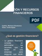Gestión y Recursos Financieros