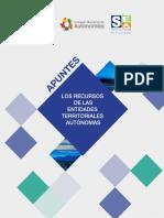 Apuntes de los recursos de las Entidades Territoriales Autónomas