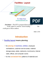 Facility Layout (Brf)
