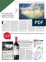Diario La Tercera de Santiago, Chile, 13-11-2016-El Volcan Mas Poderoso de Los Ultimos 20 Años