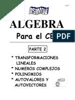 Algebra Para El CBC Parte 2