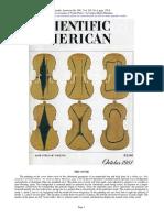Violin Plates Scientific American