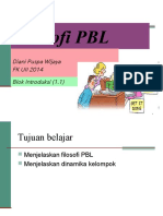 PBL & Group Dynamic 2014