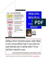 Operating Principles - Strategies for Building Effective Youth Serving Organizations