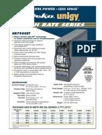 Deka-Unigy High Rate Series HR7500ET