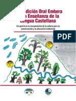 La Tradición Oral Embera en la Enseñanza de la Lengua Castellana