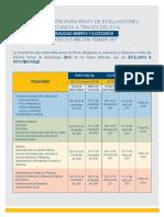 Calendario-MAD Evaluaciones Distancia