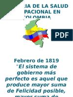 Historia Seguridad y Salud en el trabajo en Colombia