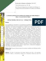 Enseñanza de Biologia en CDMX