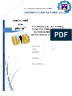 Las Finanzas en La Pymes