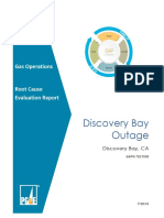 Discovery Bay Outage Report