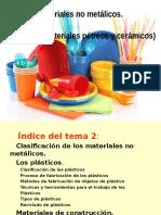 Materiales No Metalicos Plasticos Petreos y Ceramicos 214 Diap.
