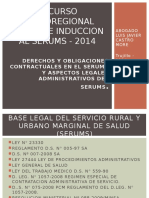 Derechos y Obligaciones Contractuales en El Serums y