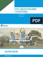 favorite healthcare staffing