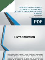 Integracion Economica, Comercial, Financiera, Monetaria Diapos