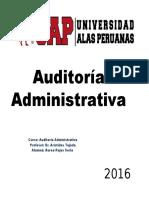 Ejemplo Auditoría Administrativa