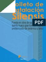 Folleto de Instalación Silensis (Ladrillo Hueco Gran Formato)