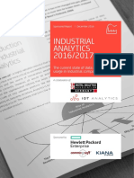 Industrial Analytics Report 2016 2017 VP Singlepage
