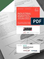 Industrial Analytics Report 2016 2017 VP Singlepage