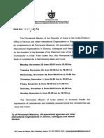 Abren en la embajada de Cuba en Ginebra el Libro de Condolencias por el deceso del Comandante Fidel Castro del 28 nov al 4 dic 2016 (2)