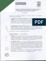 Convenio Distrital Vivienda - Municipalidad