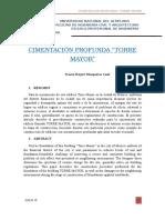 Construcción de Torre Mayor Mexico