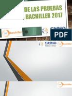Curso de Las Pruebas Ser Bachiller 2017