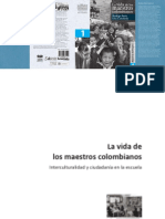 La Vida de Los Maestros Colombianos Tomo I