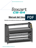 Texart Cs-64 Usermanual and Ce Eng v1.1 Sp