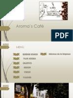 Aroma's Café Casi Listo123