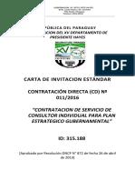 Carta de Invitacion Contratacion de Servicio de Consultor Individual Para Plan Estrategico Gubernamental Corregido II 1469643934416