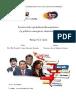La inversión española en Iberoamérica