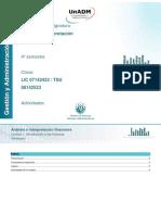 1. Introduccion a Las Finanzas_Actividades