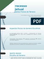 O Processo Projetual_ Aspectos Fisicos Do Terreno - Thiago e Karen